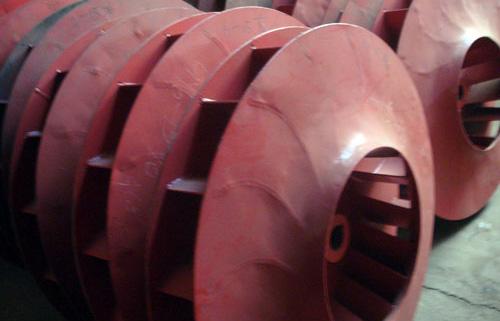 湘潭锅炉配件;引风机叶轮